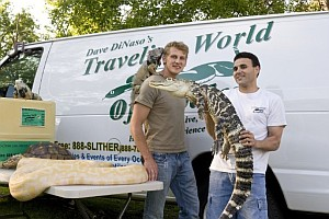 Dave DiNaso's Traveling World of Reptiles